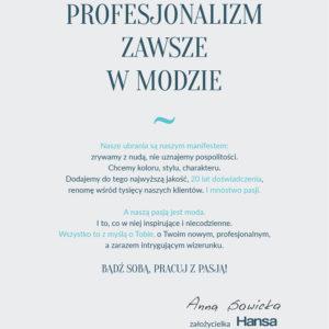 Teksty katalog Hansa